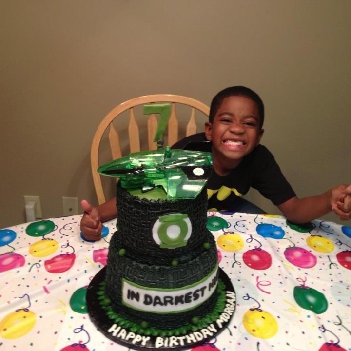 Green Lantern Edible Cake Topper