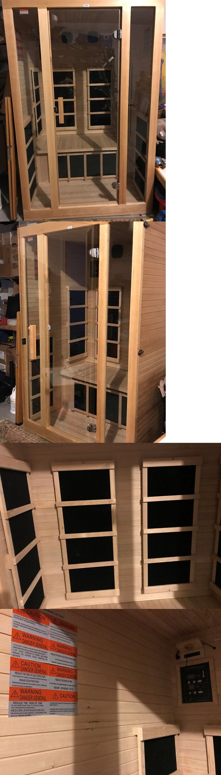 Saunas 181054: Jnh Lifestyles 2 Person Far Infrared Sauna 7 Carbon Fiber Heaters! New!! -> BUY IT NOW ONLY: $800 on eBay!
