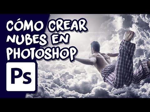 Cómo crear nubes en Photoshop - YouTube