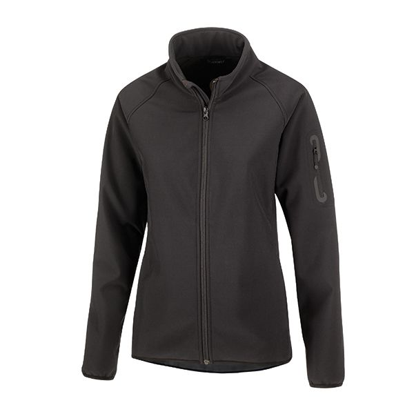 Sofia is XD Apparel's versatile soft shell jacket featuring a sporty tailored design including a slightly longer back for added protection and raglan sleeves for enhanced ease of movement. The 4-way stretch fabric is bonded to a soft gray contract fleece to deliver superior comfort in a 1-layer solution designed to adapt to all conditions. It also packs all the performance features of an outerwear jacket offering high waterproofness & breathability as well as wind protection & water…