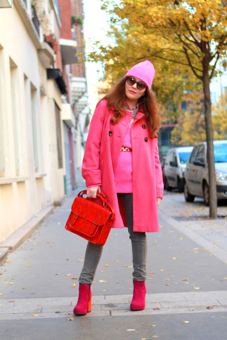 Pink Neon Streetstyle - pictures, photos, images