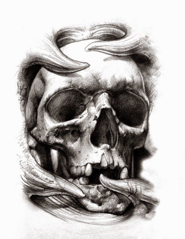 Belagoria | la web de los tatuajes : Tatuajes de calaveras: significado e ideas