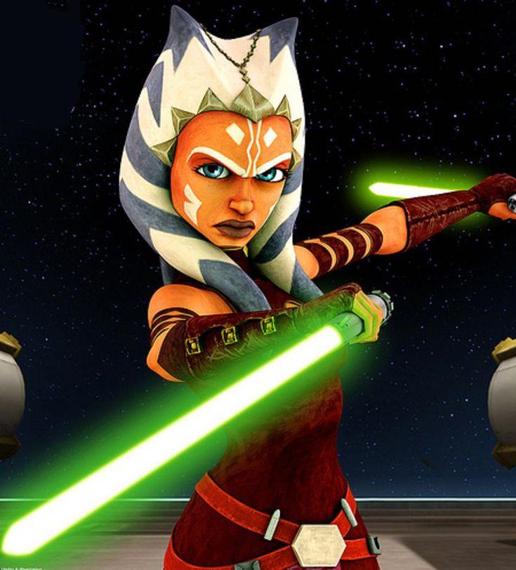 Ahsoka Tano (Star Wars) | Star wars mädchen, Star wars