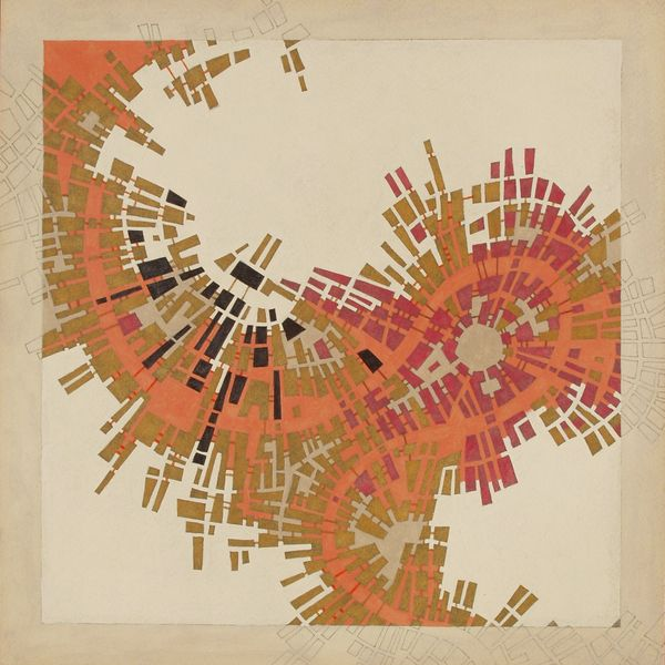 Codes - Imaginary maps of nonexistent cities by federico cortese, via Behance