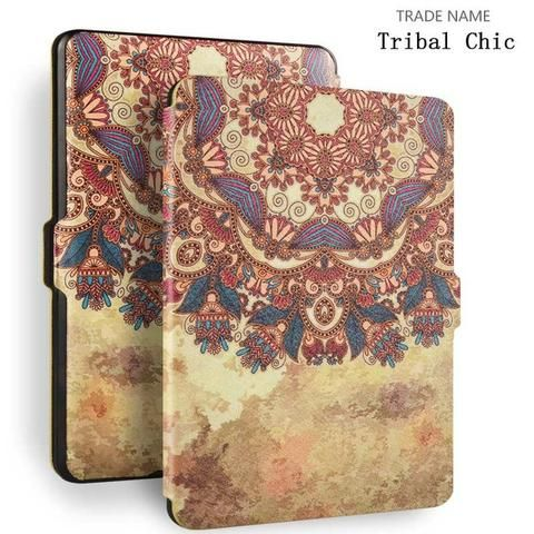 Kindle Paperwhite Case , Color - Tribal style-For Reading Addicts