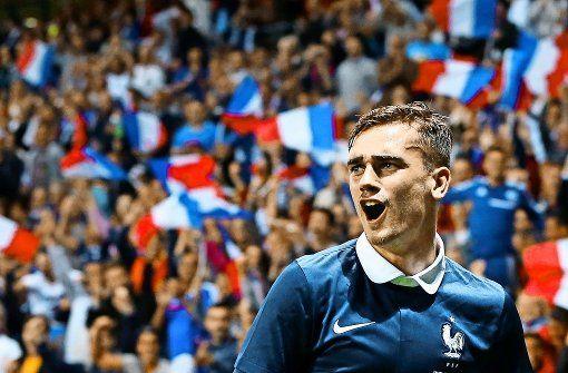 Der Ruf nach neuen Erfolgen soll nicht ungehört bleiben: Antoine Griezmann gehört dabei zu den Hoffnungsträgern in der französischen Mannschaft. Foto: dpa