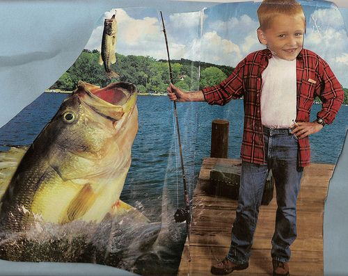 Have kids put their face on a magazine picture.  Then, write a caption or story.  I think the kiddos would LOVE this.