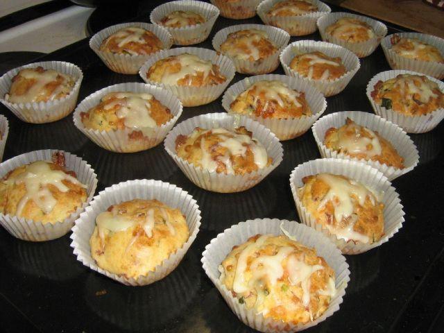 Kinkku-juustomuffinit - Kotikokki.net - reseptit