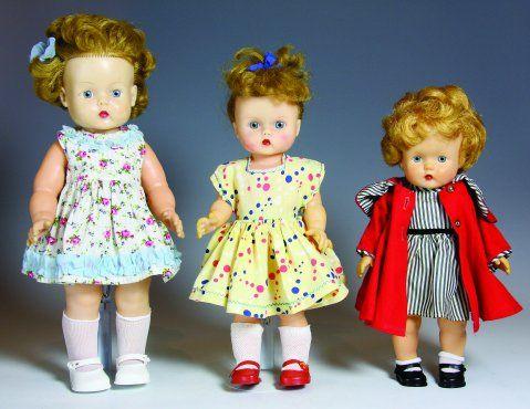 Anne-dukke i tre forskjellige størrelser Åsmund S. Lærdal