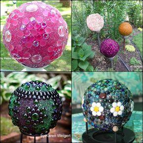 Decorative garden ball