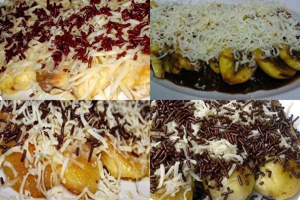 Resep pisang bakar coklat keju dan cara membuatnya