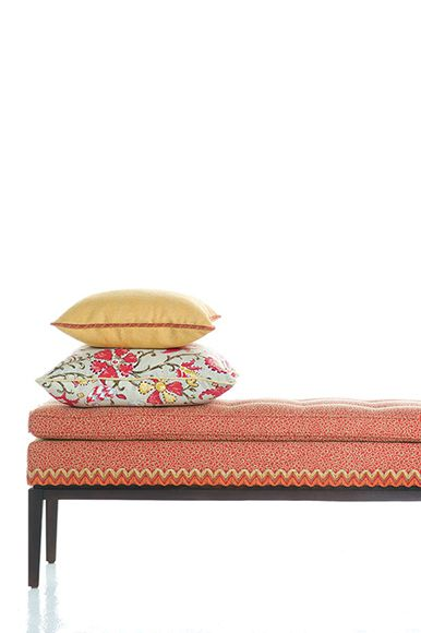 Fabricut - Isabelle De Borchgrave fabric, wallpaper and trimmings collection.  Available exclusively in Australia from The Textile Company