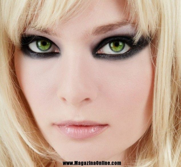 0e89ae2cc0f 12 Most Gorgeous Makeup for Green Eyes | MagazinaOnline.com | The Art of  Avant Garde | Makeup For Green Eyes, Eye Makeup, Dramatic eye makeup