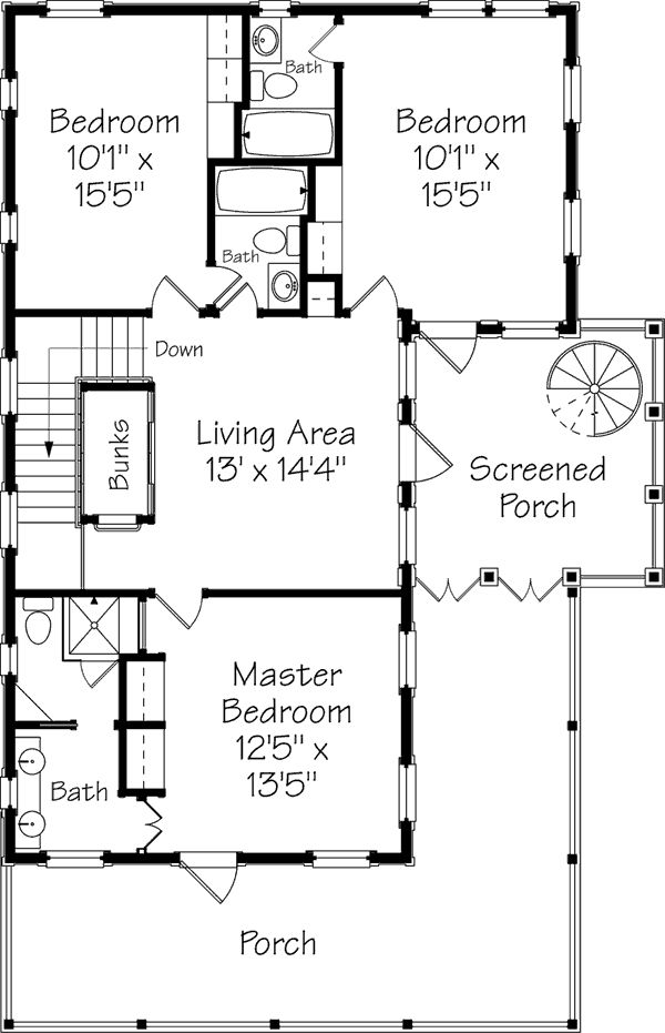 Guest cabin plans fabulous build your own cabin no for Build your own guest house