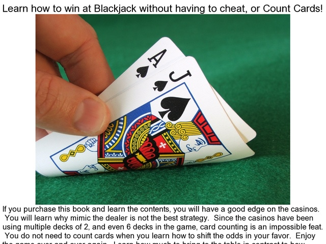 winning blackjack without counting