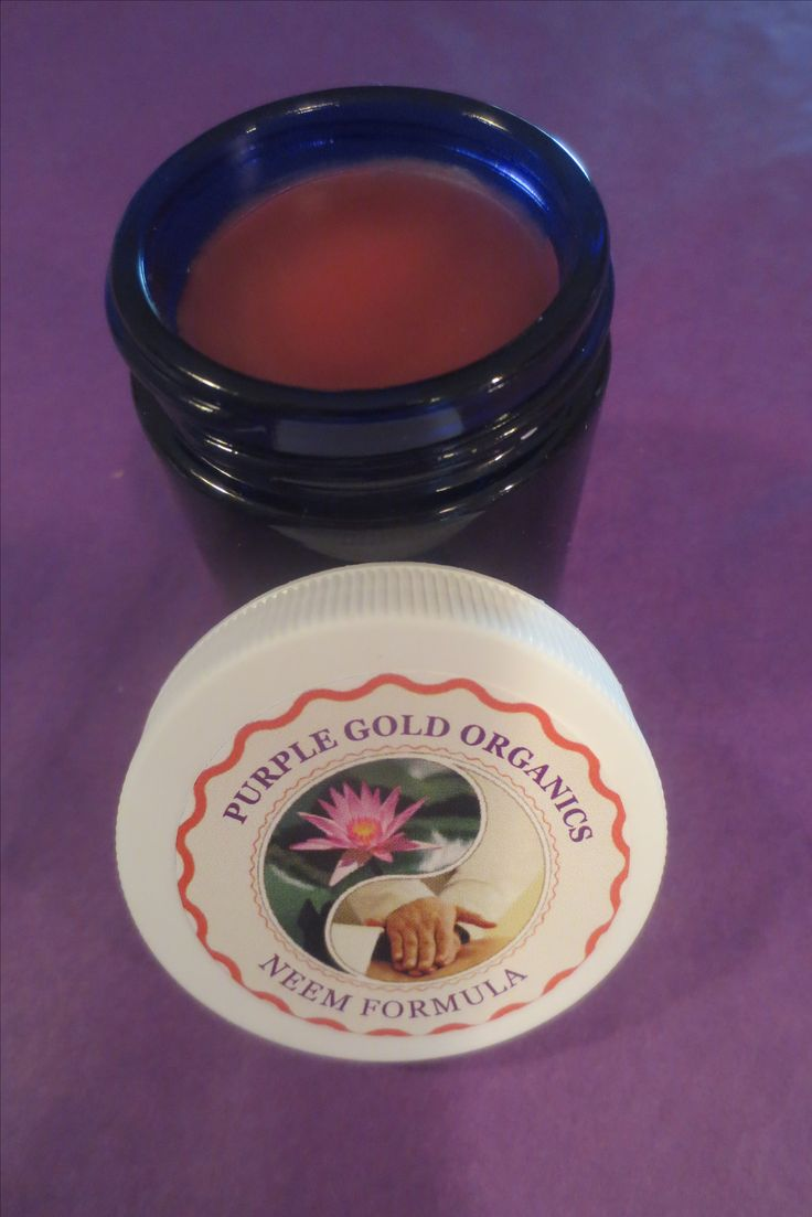 Purple Gold Neem formula is great for inflamed, itchy, red skin rashes especially made for Eczema, Scabies & Psoriasis flareups and for maintanence care.