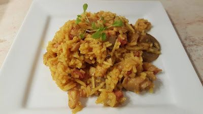 Reg-enor Life: Baconos, gombás, kurkumás rizs