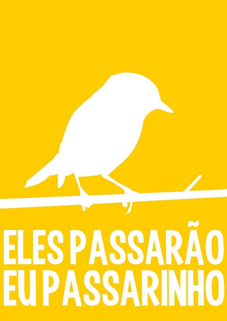 Pôster Passarinho | Almo Mix | Elo7