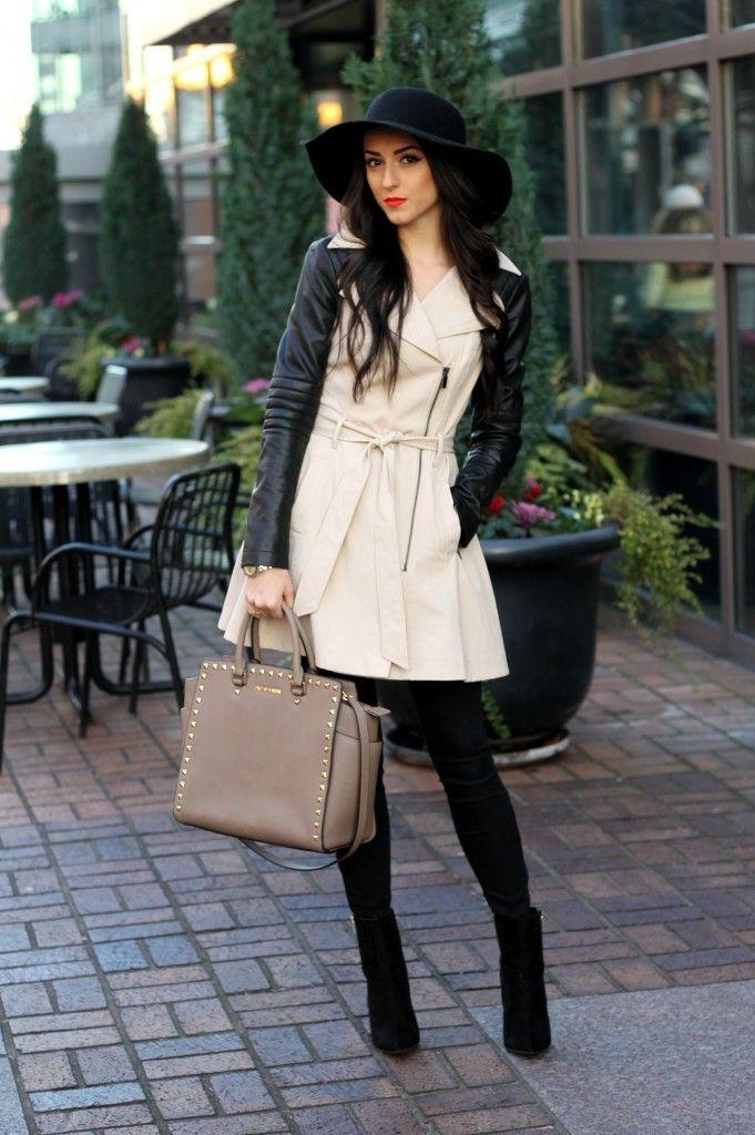 fall fashion/ hat & boot season/ winter style