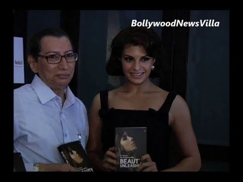 Jacqueline Fernandez launches the book Beauty Unleashed.