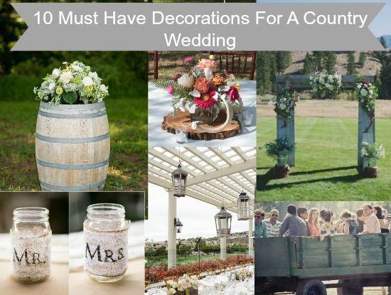 1159 best Rustic Wedding Decorations images on Pinterest ...