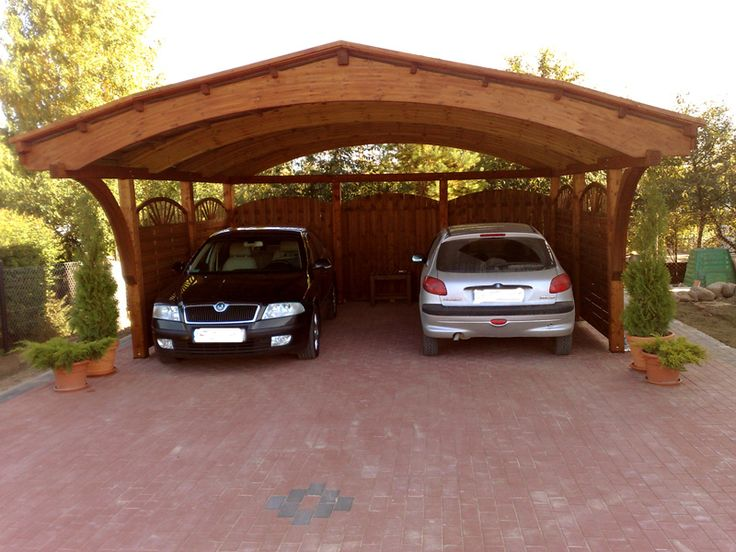 11 best abris voiture et carport en bois images on for Garage top car marseille