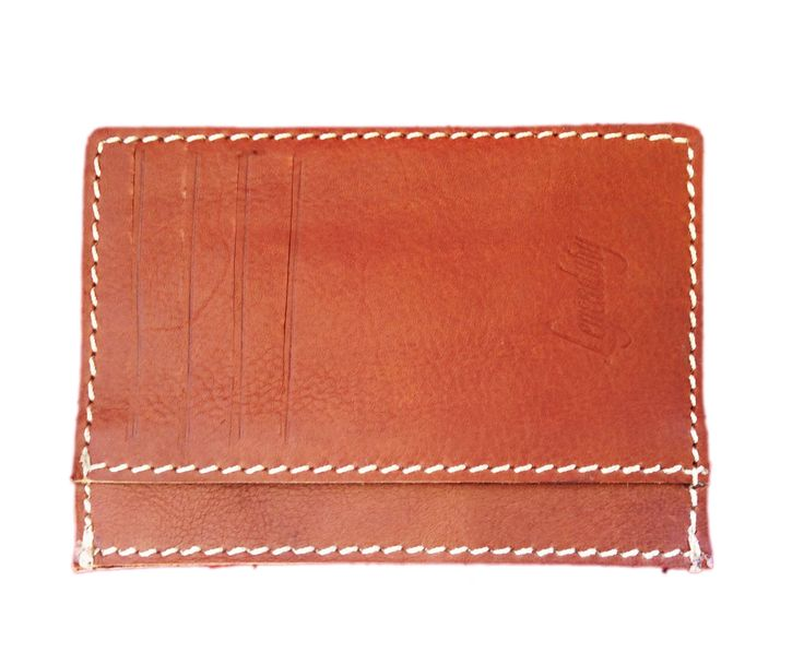 Unique Design High Quality 8 Slot Tan Leather Wallet By Legendary Leather **FREE…