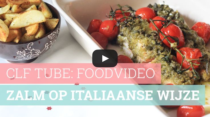 Foodvideo: Zalm op Italiaanse wijze
