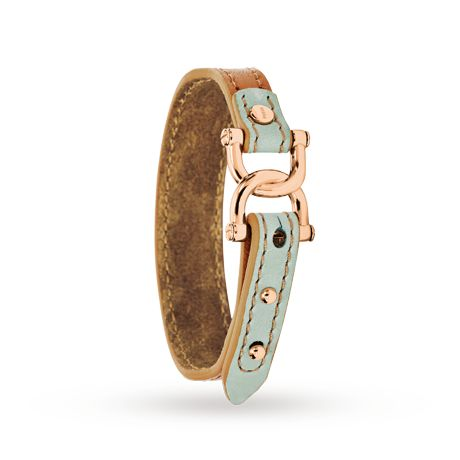 Fossil D-Link Leather Bracelet