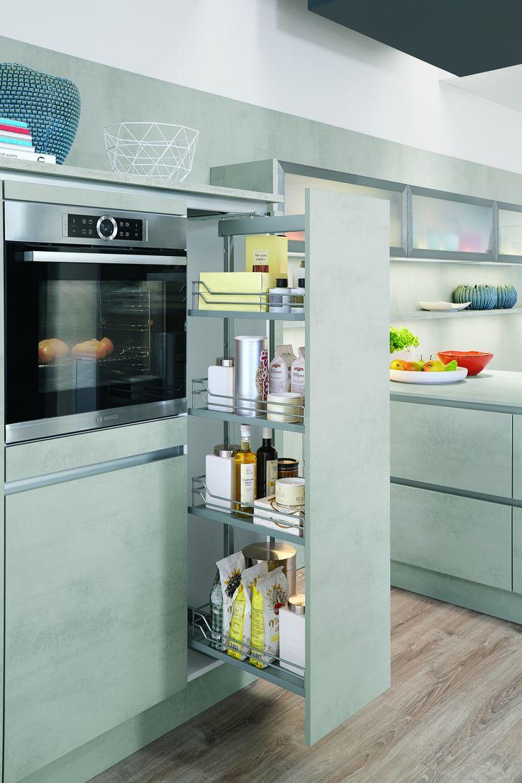 25+ beste ideeën over apothekerschrank küche op pinterest ... - Apothekerschrank Für Küche
