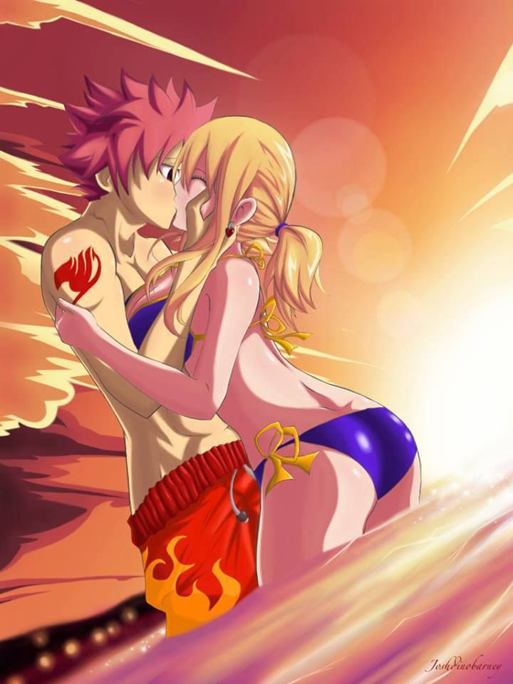 Fairy Tail - Natsu and Lucy | Fairy tail: Nastu and Lucy ...