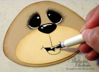 ** My Paper Crafting.com **: Faces Tutorial This is not really a stamping…