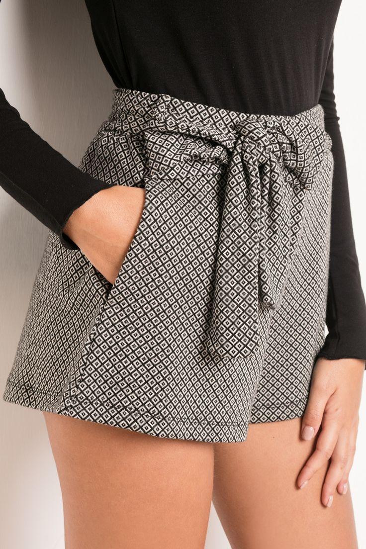 Shorts fiocco davanti - Pantaloncini - Abbigliamento