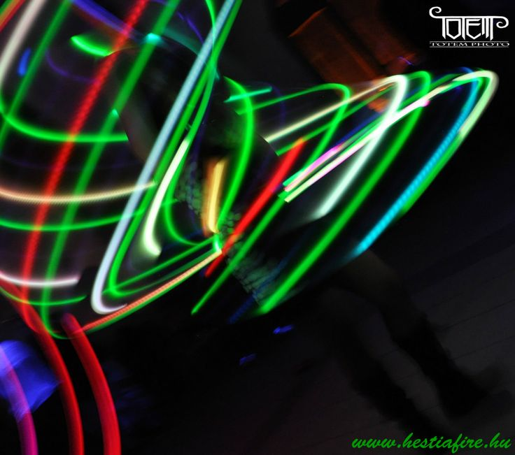 Led Light show - Led juggling - hulahoop