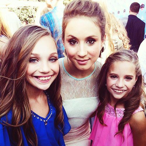 Maddie, Mackenzie, and Triorian