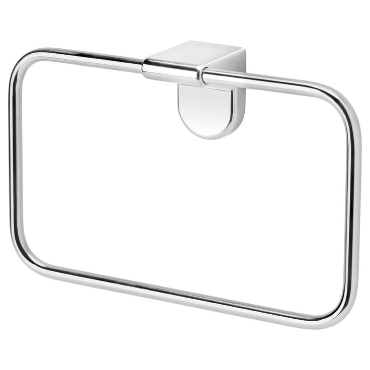 IKEA - KALKGRUND, Towel hanger, , No visible screws, as the hardware is concealed.The chrome finish is durable and resistant to corrosion.