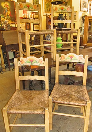 Superb Monterey Chairs With California Poppies
