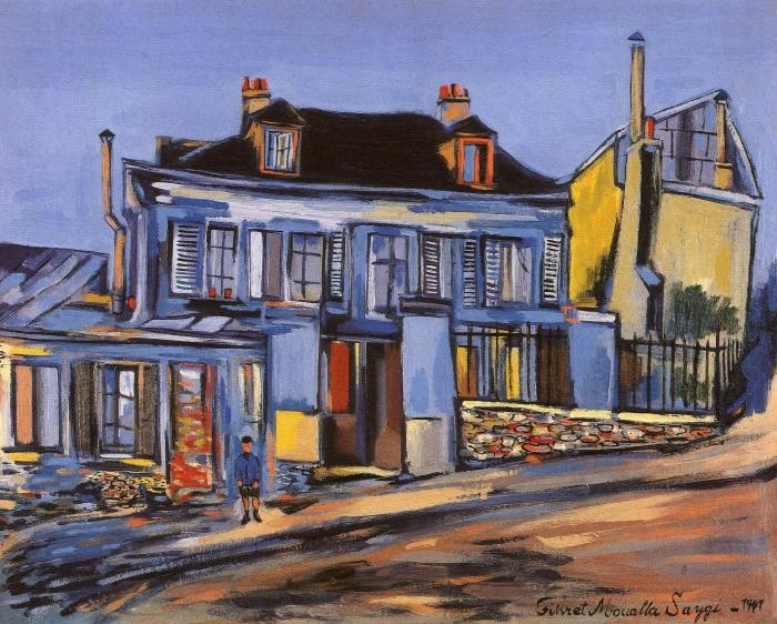 Fikret Muallâ Saygı (1904, Kadıköy, Istanbul, Turkey - July 20, 1967, Reillanne, France) was a 20th-century avant-garde painter of Turkish descent. His work reflects influences from Expressionism and Fauvism, with subject matter focusing on Paris street life, social gatherings such as cafés and circuses. (Wikipedia)