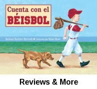 "Cuenta con el béisbol. By Barbara Barbieri McGrath; trans. by Yanitzia Canetti; illust. by Brian Shaw. │Numbers from 0 to 20 are counted to using baseball terminology in this rhyming picture book. Numbers increase as the game progresses. A great introduction to baseball that features both boys and girls. A translation from ""The Baseball Counting Book"". In Spanish."