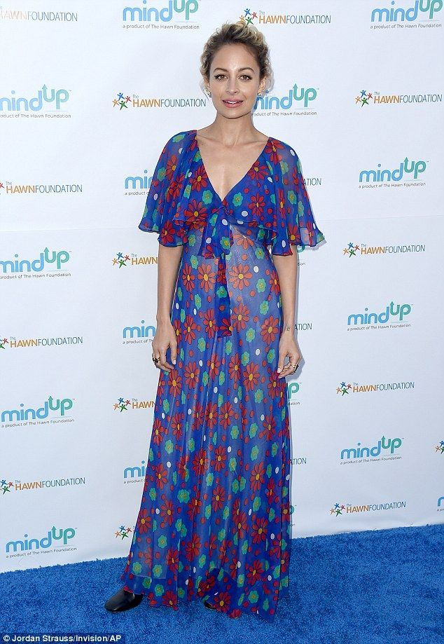 Always stylish: Nicole Richie didn't disappoint when she hit the red carpet on Friday night for Goldie Hawn's Love in For Kids event
