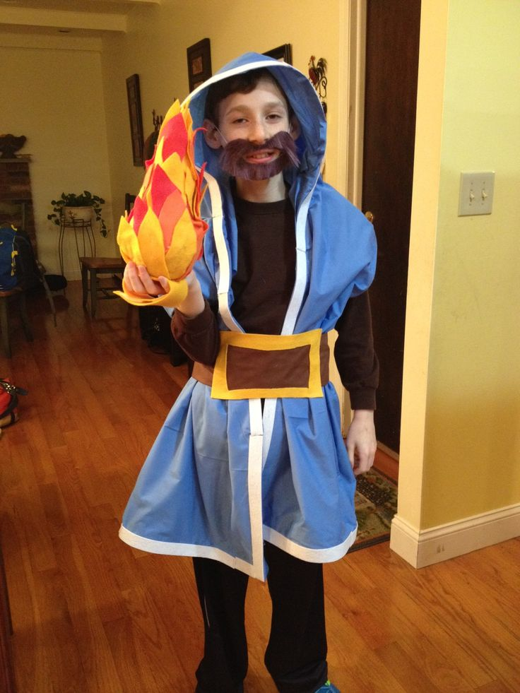 Clash of Clans Wizard Costume