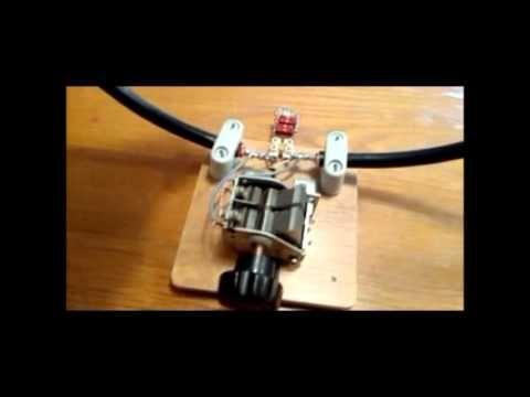 HF Indoor Loop Antenna DIY - Simple & Easy to Build - YouTube