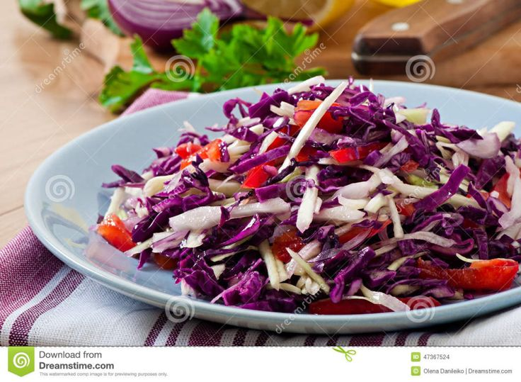 Anti Stress Treatment: Detox Salad With Apples And Cabbage [RECIPE]