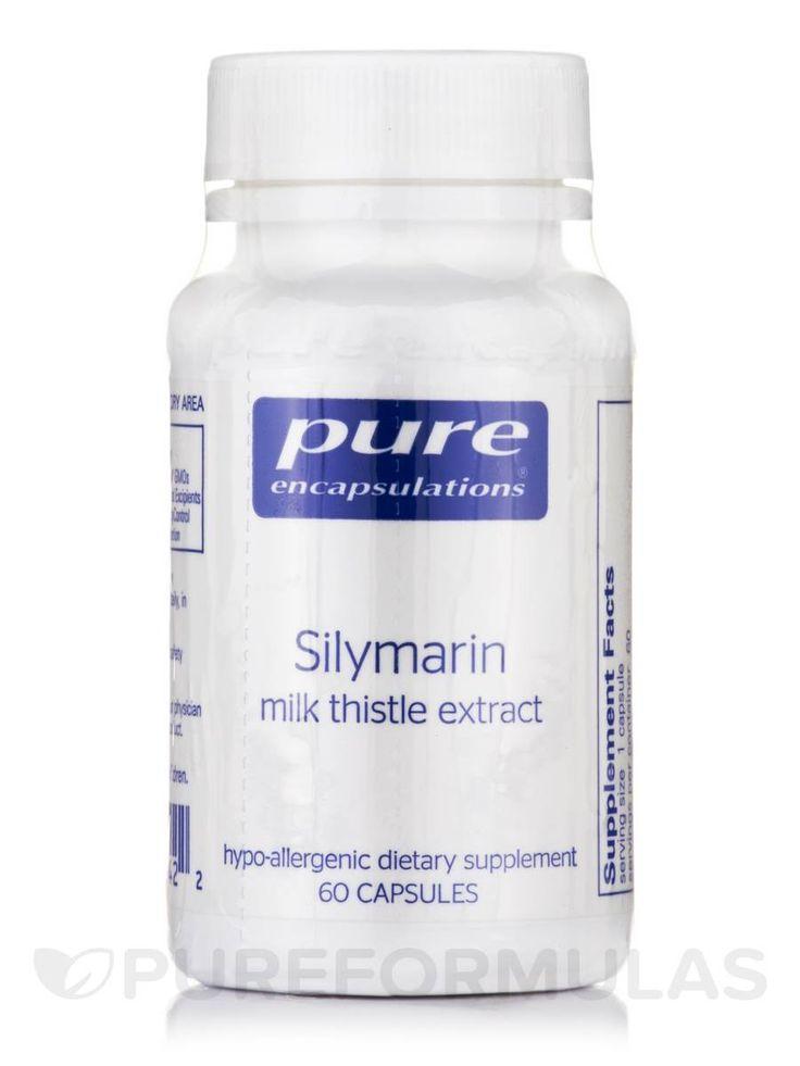 Silymarin (Milk Thistle Extract) - 60 Capsules