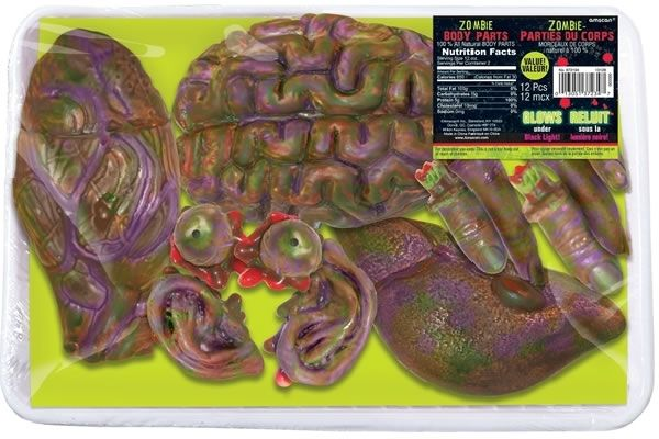 Zombie Body Parts Zombie Products Pinterest Vinyls
