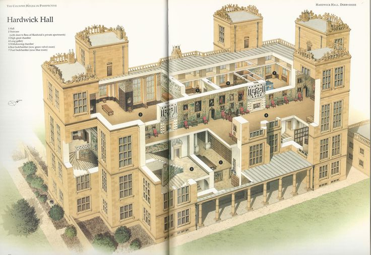 Floor plan of highclere castle google search exterior for Renaissance homes floor plans
