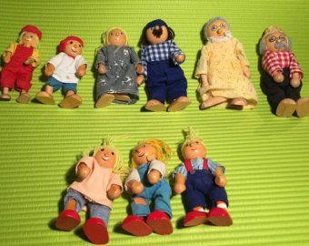 Dollhouse family | Etsy