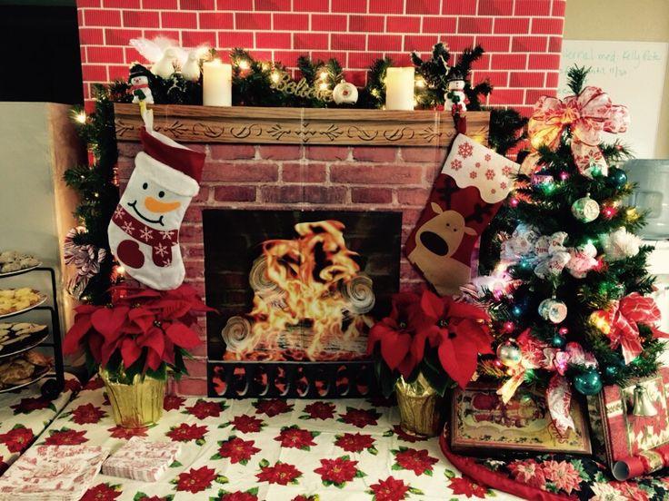 Christmas potluck at office