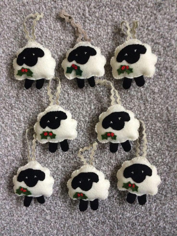 2017-12 Christmas Sheep - made by Jan