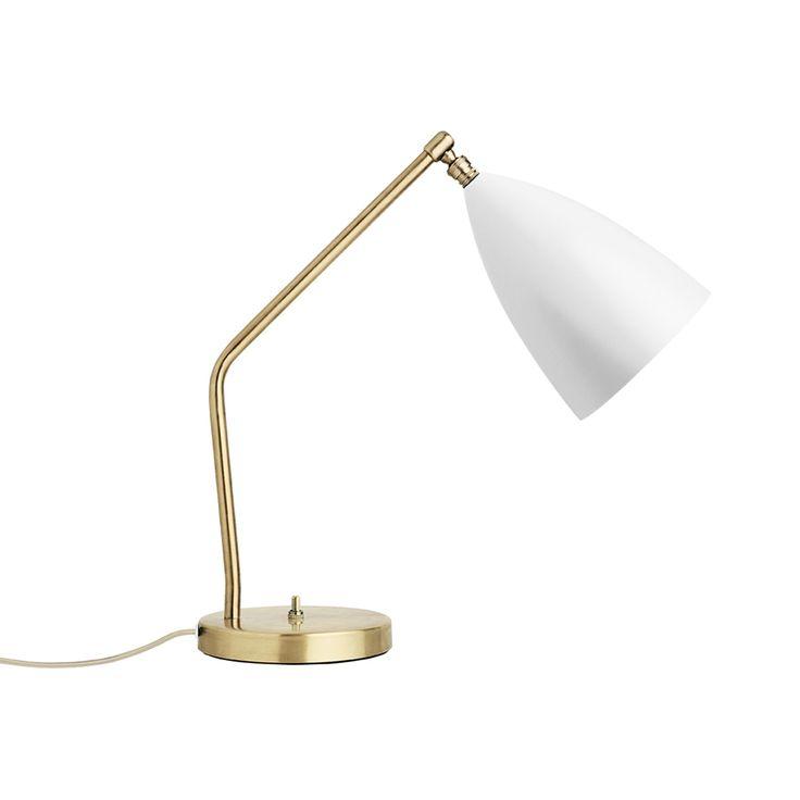 Gubi Grasshoppa Task Table Lamp-Matt White